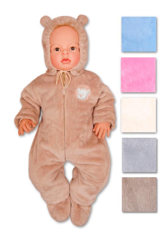 Махровый комбинезон для новорожденного своими руками